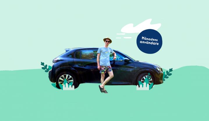 Björn leasar och delar sin bil med GoMore